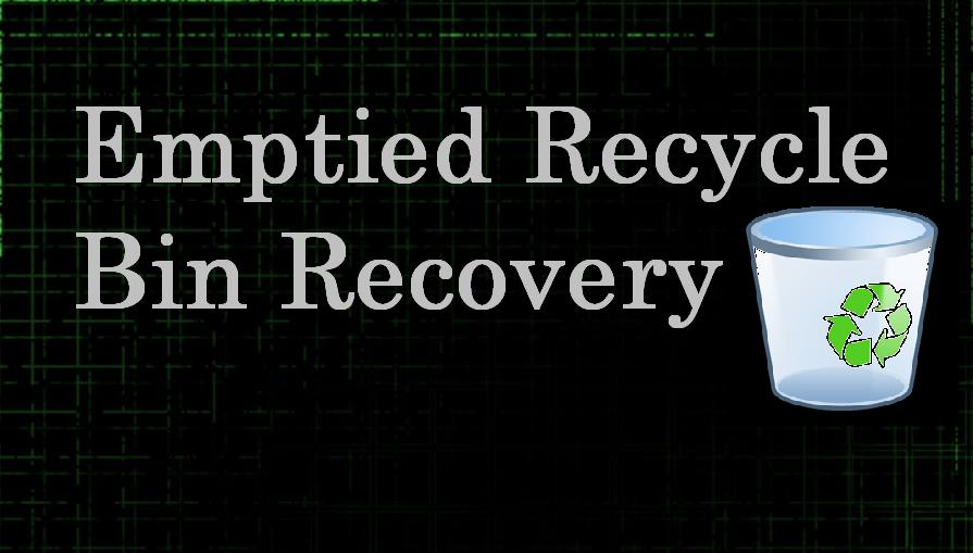 Emptied Recycle Bin Recovery 4.0.0.32