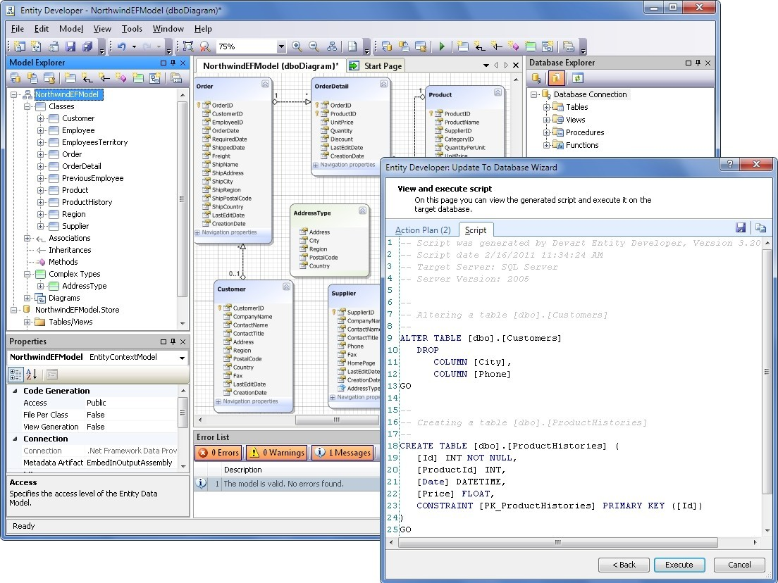 Entity Developer for LINQ to SQL 5.5
