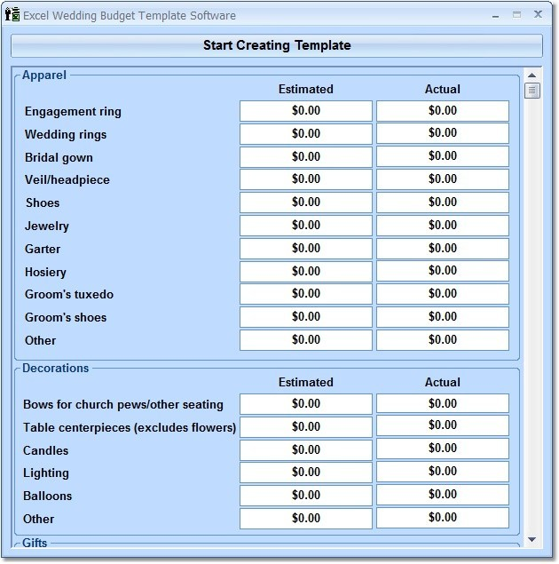free downloadable budget software