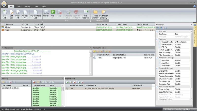 FileGee Backup & Sync Enterprise Edition 9.7.9