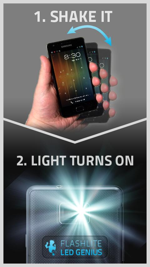 Flashlight LED Genius PRO 1.2