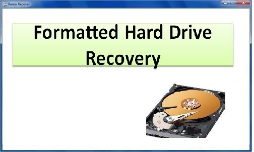 Formatted Hard Drive Recovery 4.0.0.32