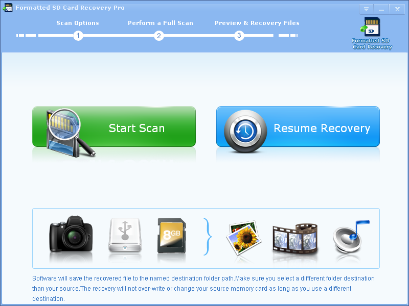 Formatted SD Card Recovery Pro 2.6.8