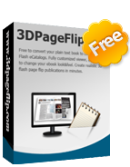 Free 3DPageFlip PDF to Flash for Mac 1.1