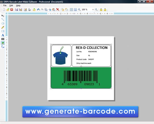 Free Barcode Label Maker 7.3.0.1