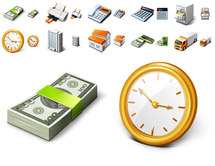 Free Business Desktop Icons 2010.1