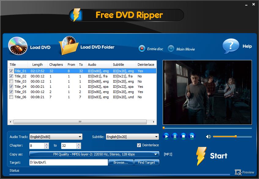 Free DVD Ripper Ultimate 3.1.7