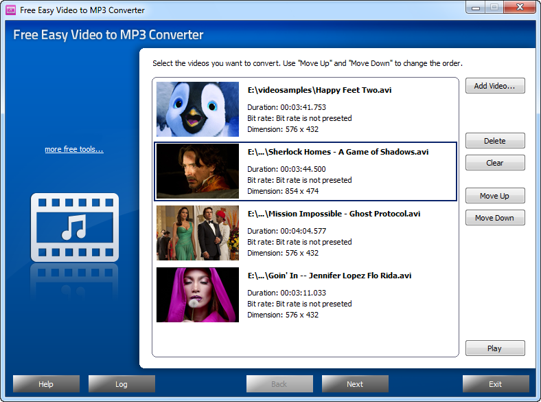 Free Easy Video to MP3 Converter 4.4.9