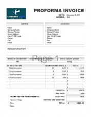 Free invoice template 1.2