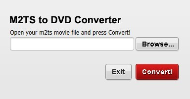 Free M2TS to DVD Converter 1.3.0.0
