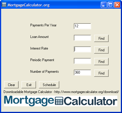 Free Mortgage Calculator Tool 1.0