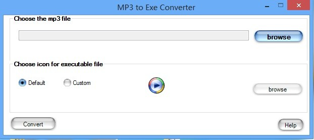 Free MP3 to EXE Converter 1.6.1