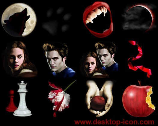 Free Twilight Desktop Icons 2010.1