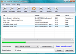 Free Video to MP3 Converter Pro 1.8.0.0