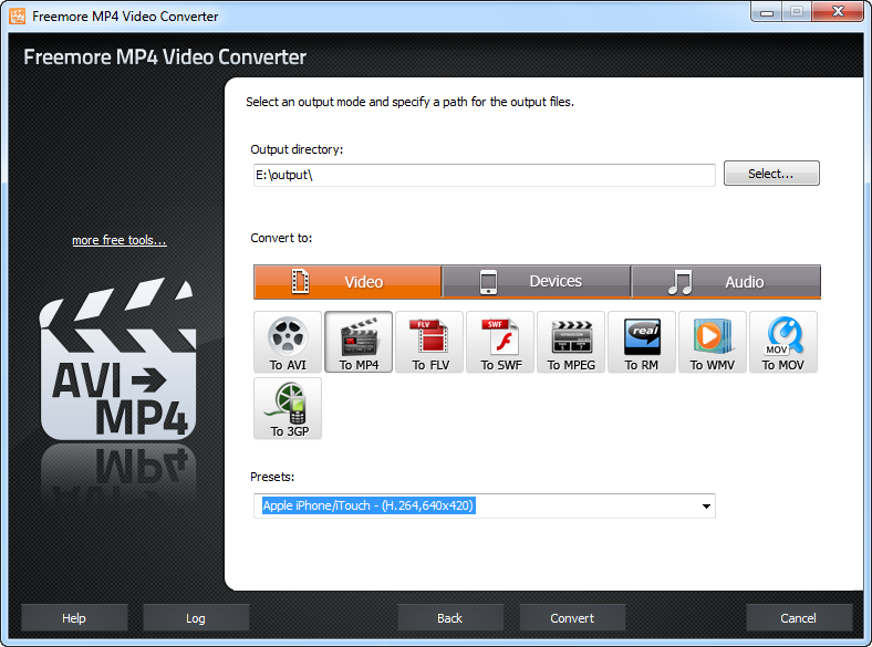 Freemore MP4 Video Converter 2.4.7
