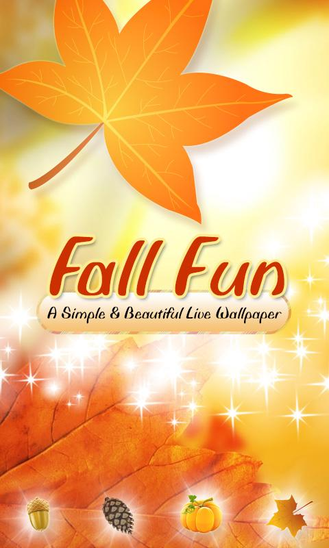 Fun Fall Live Wallpaper (2012) 1.0
