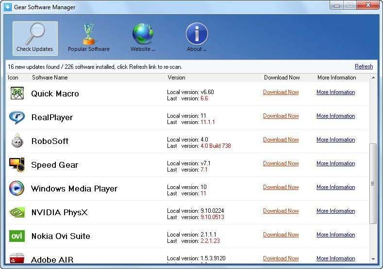 Gear Software Manager 1.02