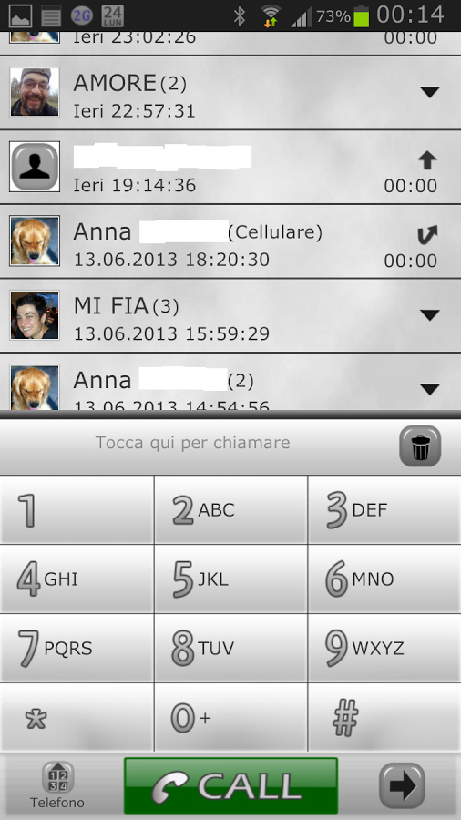 Go Contacts Ex WHITE theme 1.0