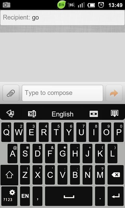 GO Keyboard Alpha Theme 2.1