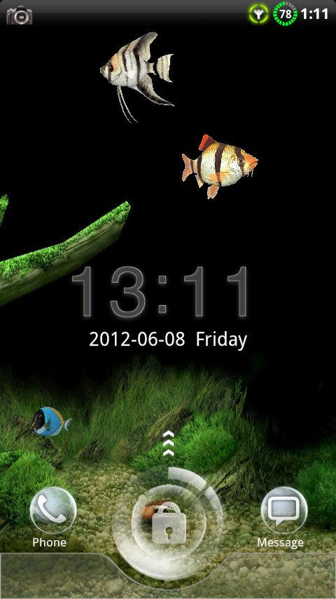 GO Locker Aquarium Theme 1.02