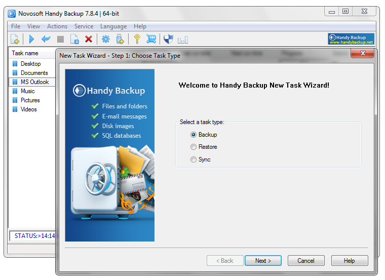 Handy Backup Home Professional 7.8.4