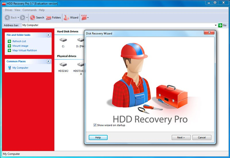 HDD Recovery Pro 2.54