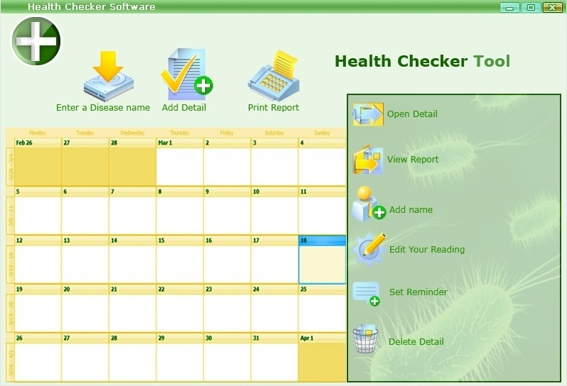 Health Checker Software 1.1