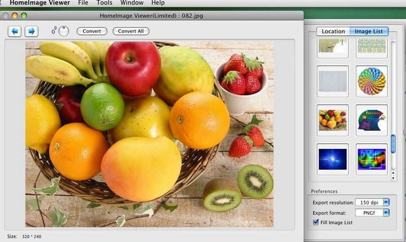Home Image Viewer and Convertor for Mac 2.2.0