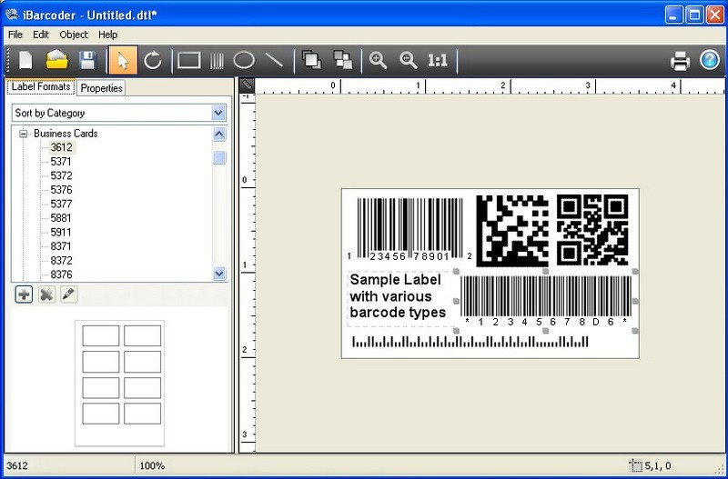 iBarcoder, Windows barcode generator 1.3.6