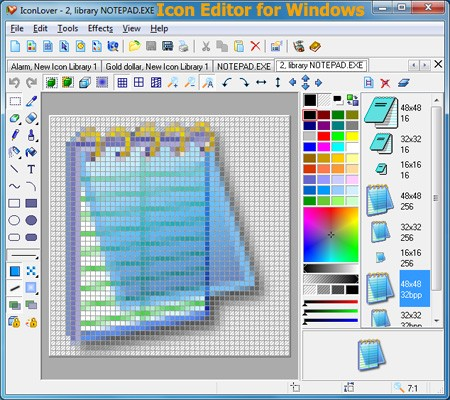Icon Editor for Windows 5.34