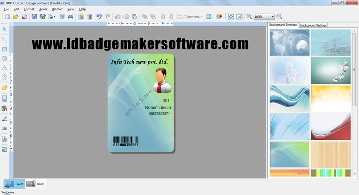 Id Badge Maker Software 8.2.0.1