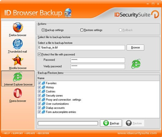 ID Browser Backup 1.2
