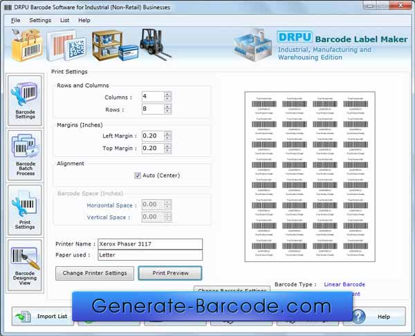 Industrial Warehousing Barcode 7.3.0.1