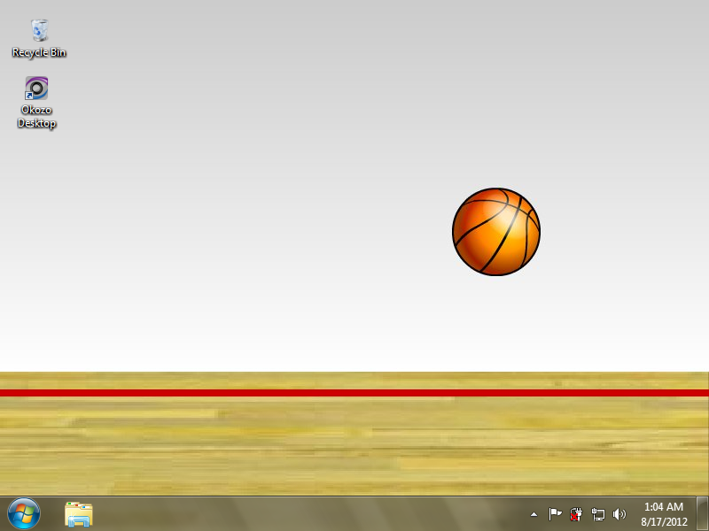 Interactive Basketball Desktop Wallpaper 1.0.0