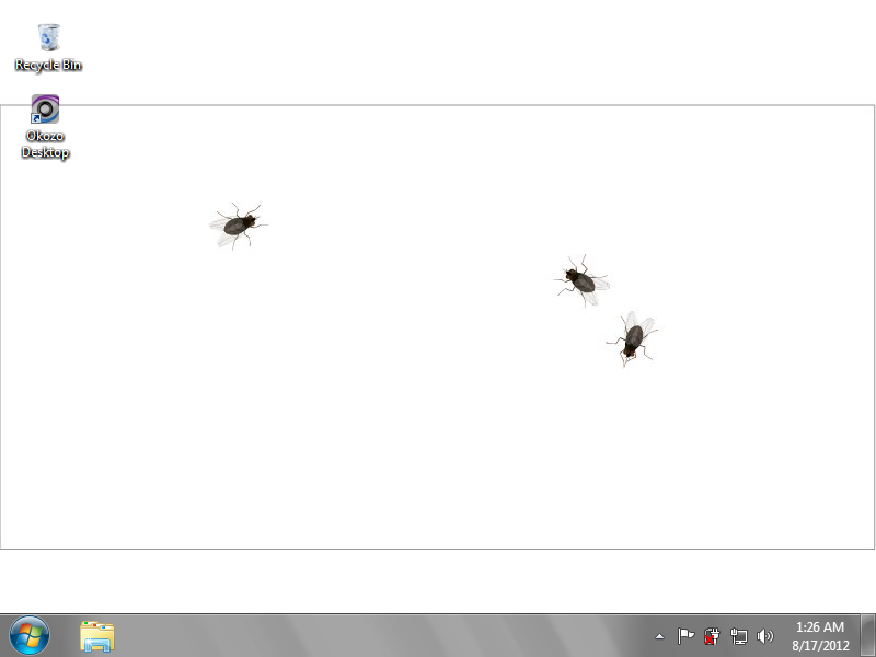 Interactive Flies Desktop Wallpaper 1.0.0