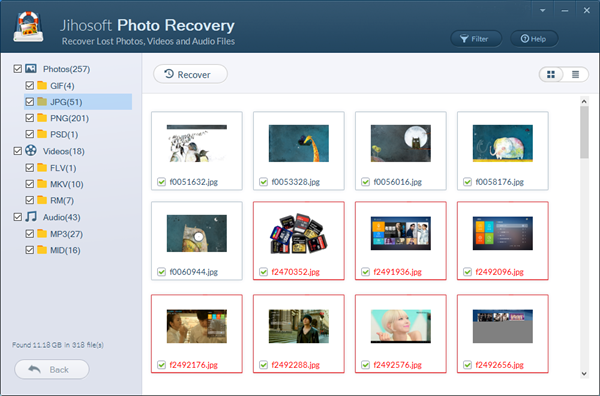 Jihosoft Photo Recovery 8.23