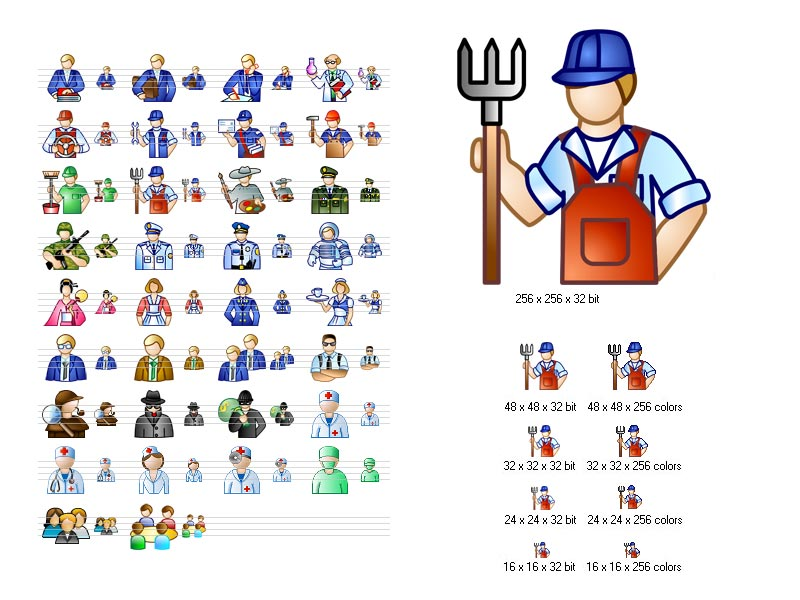 Job Icon Set 2013.1