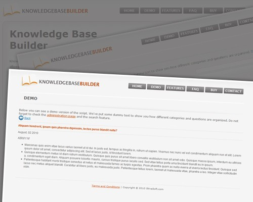 Knowledge Base Builder 1.0