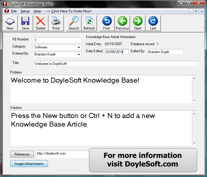 Knowledge Base 2.9.92