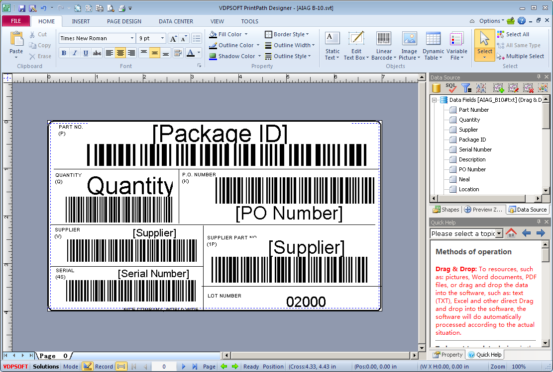 LabelPath Barcode Label Printing Suite 5.5.130.716