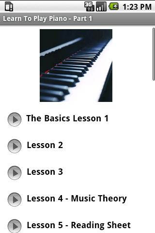 Learn To Play Piano - Part 1 1.0
