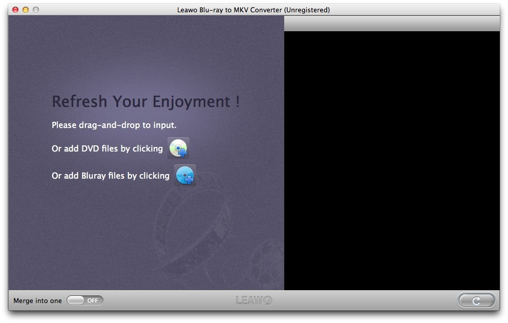 Leawo Blu-ray to MKV Converter for Mac 1.0.0