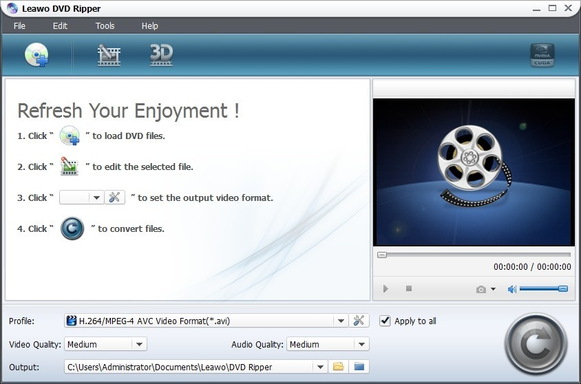 Leawo DVD to Apple TV Converter 5.1.0.0