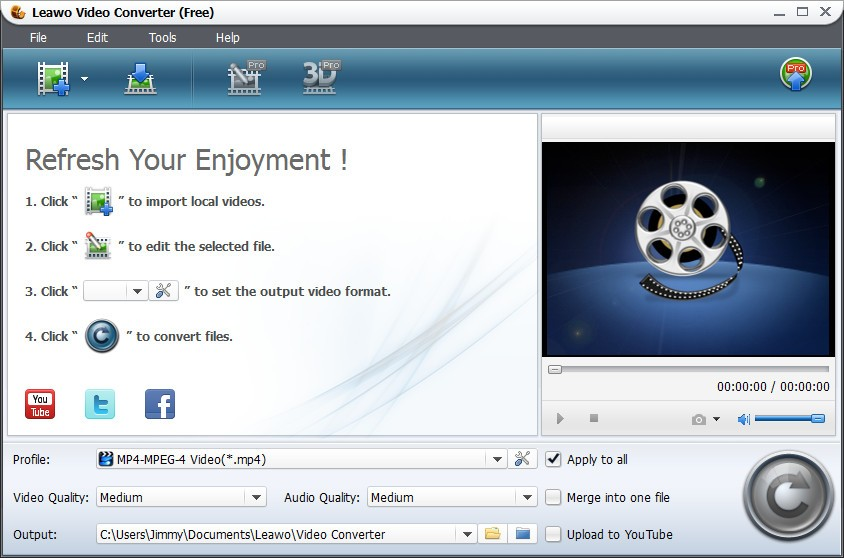 Leawo Free RMVB to AVI Converter 6.0.0.0