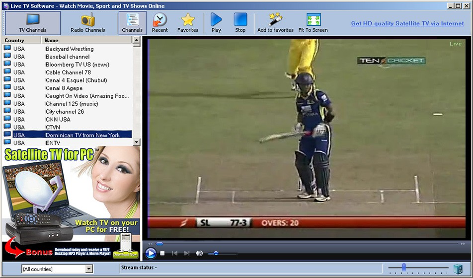 Live Cricket Streaming 9.21