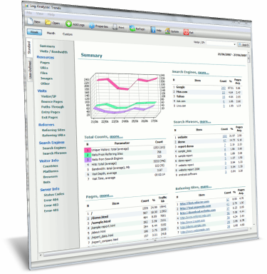 Log Analyzer: Trends Freeware 2.3