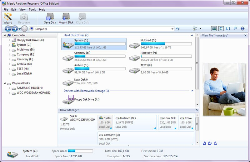 Magic Partition Recovery 2.6