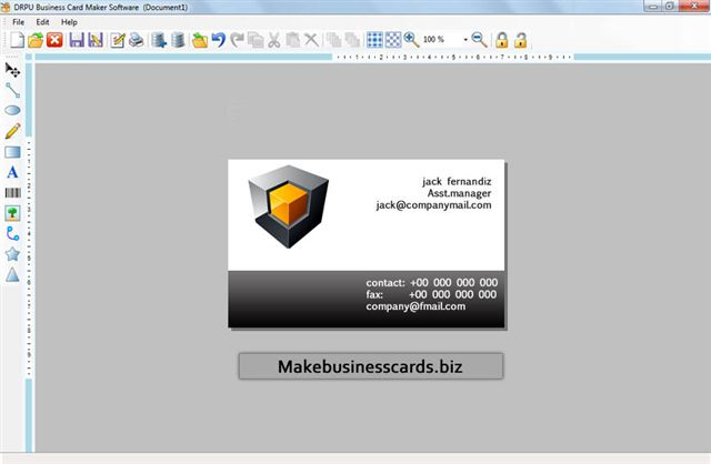 Good Free Program Make Business Cards free