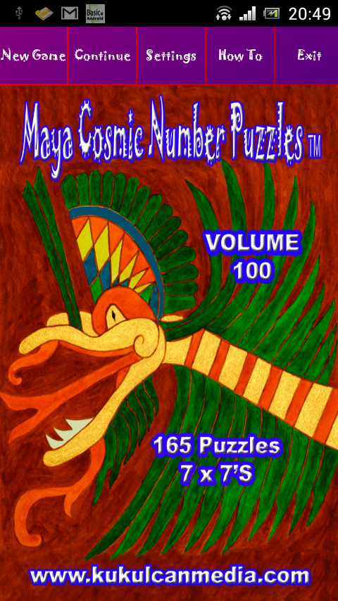 MAYA COSMIC NUMBER PUZZLES 100 Varies with device