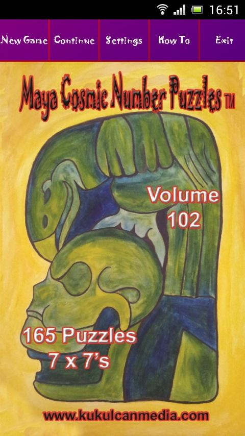 MAYA COSMIC NUMBER PUZZLES 102 Varies with device